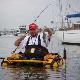 Łódka fotel dla wędkarza na rzekę i jezioro TOGIAK