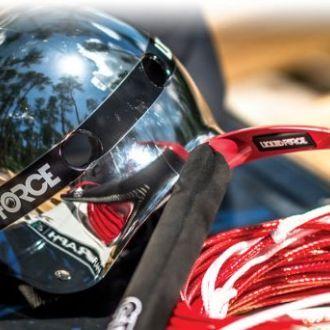 Kask do sportów wodnych LIQUID FORCE Flash Comp Silver