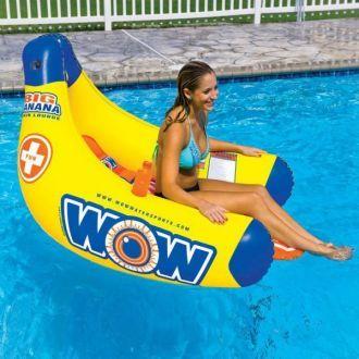 Fotel dmuchany do wody i basenu WOW BIG BANANA LOUNGE