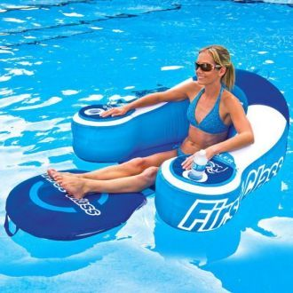 Fotel dmuchany do wody i basenu WOW FIRST CLASS LOUNGE
