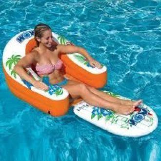 Fotel dmuchany do wody i basenu WOW MALIBU LOUNGE