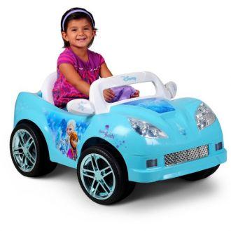 Samochód kabriolet dla dzieci Kraina Lodu Disney Frozen elektryczny 6V