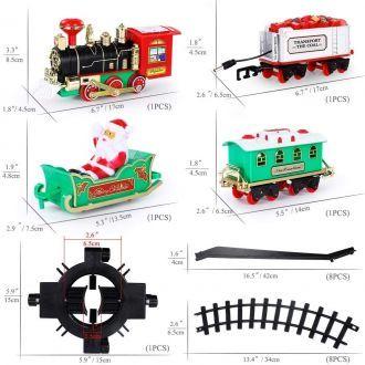 Kolejka Pociąg na Choinkę Święta Bożego Narodzenia