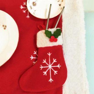 Mata Podkładka Świąteczna Na Stół Boże Narodzenie Komplet