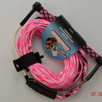 Lina do holowania narty wodne wakeboard GLADIATOR Pink